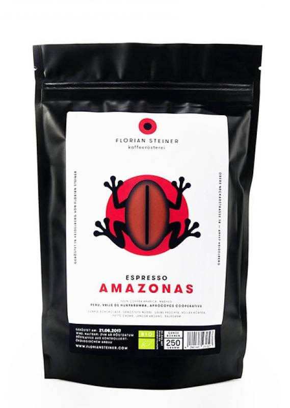 Espresso Amazonas bio